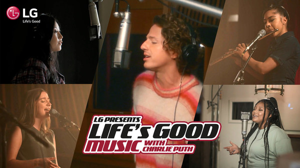 LG Spreads a Message of Hope with Charlie Puth