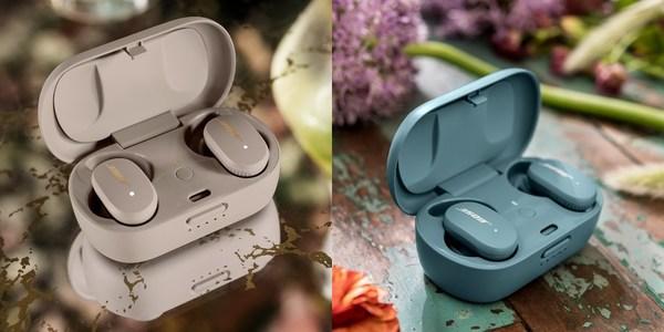 """美国专业音频品牌Bose发布Bose消噪耳塞""""石墨蓝""""与""""砂岩金""""两款全新配色"""