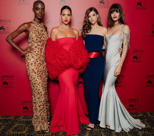 아르마니 뷰티, 제78회 베니스 국제 영화제 기리는 독점 디너 개최