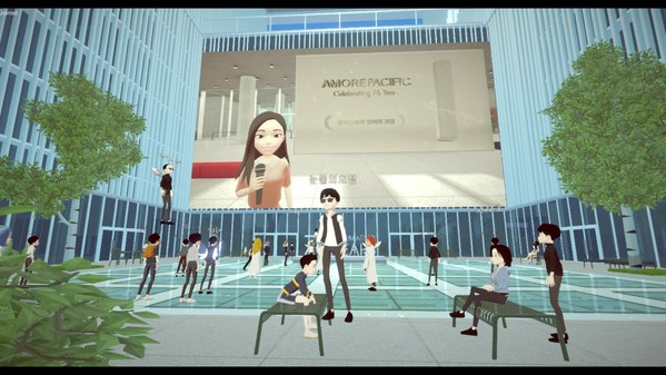 Amorepacific Celebrated Its 76th Anniversary in the Metaverse