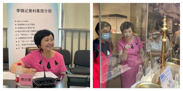 赖洁珊总监向嘉宾分享李锦记企业社会责任举措
