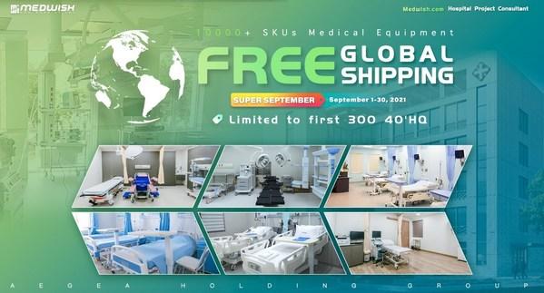 Medwish.com triển khai kế hoạch miễn phí vận chuyển thiết bị y tế cho bệnh viên trên toàn cầu