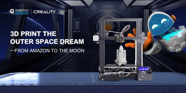 Creality tham gia buổi họp báo về dự án chế tạo robot không gian