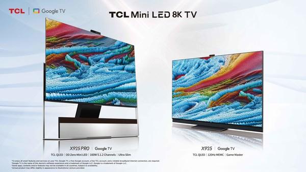 TCLが比類のない8K性能を誇る2021プレミアムMini LEDテレビを発売