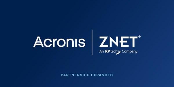 Acronis dan ZNet Technologies memperluas jejak bersama di Australia, New Zealand, Filipina, Indonesia, Malaysia dan Thailand