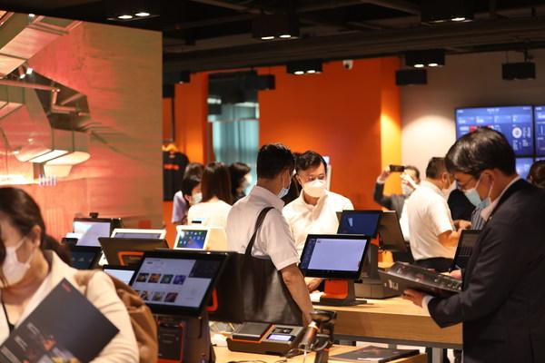 上海を拠点とする⽇本の自治体および企業の代表団がSUNMI Technologyを視察訪問