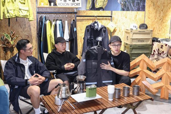 品牌高层及主理人线下活动分享,左起Seven, Rex, Justin Ding