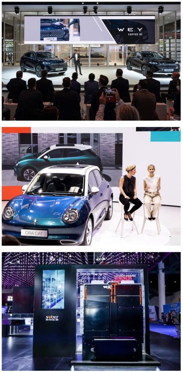 GWMがIAA Mobility 2021で新車を公開し、先発者の優位を利用して欧州の新エネルギー市場を獲得へ