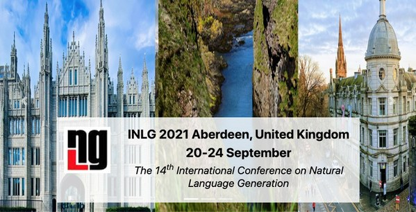 Arria NLG to sponsor 14th International Conference on Natural Language Generation (INLG 2021)