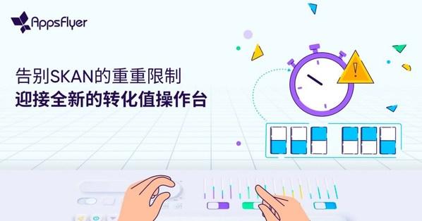 AppsFlyer正式推出SKAN转化值操作台,高效衡量iOS端用户行为