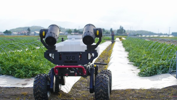 XAG Brings in Self-driving Robot to Ease Burden of Japanese Fruit Farmers