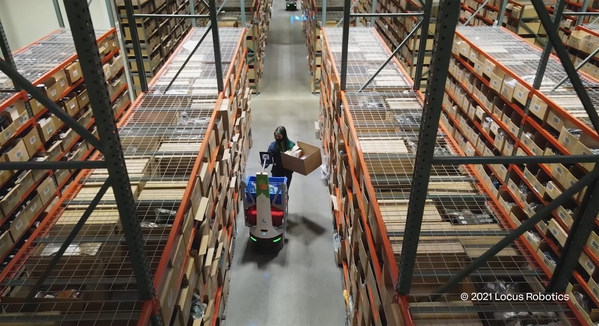 Evo successfully responds to e-commerce growth with Kӧrber and Locus Robotics