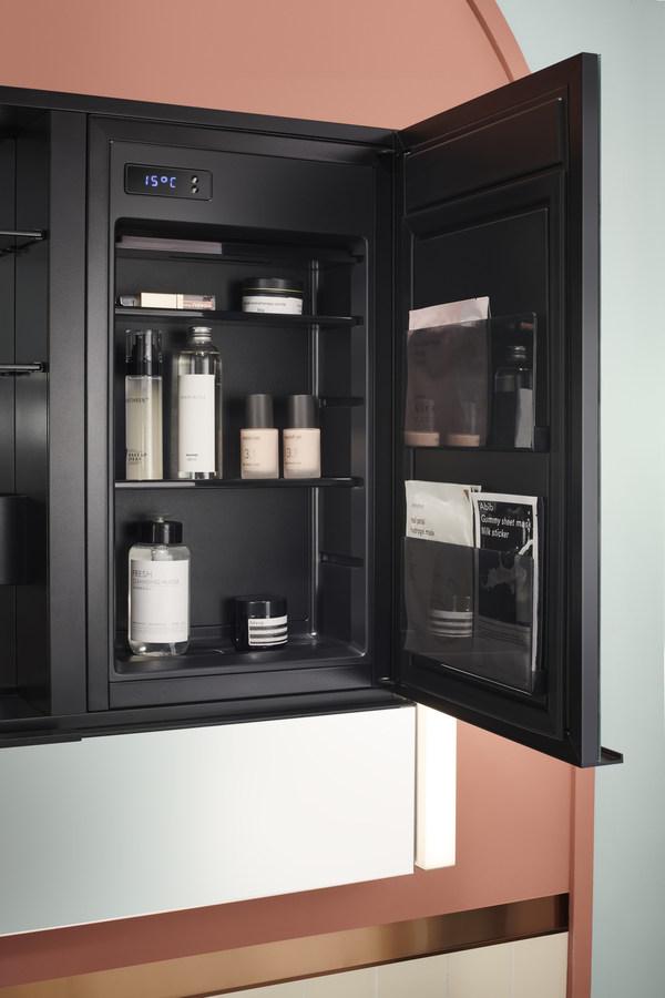 科勒博纳2.0镜柜 内置美妆冰箱