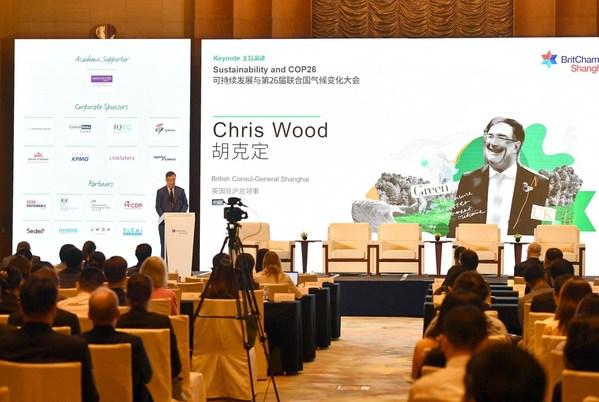 Chris Wood, British Consul-General Shanghai