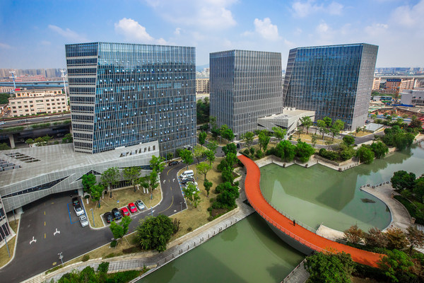 杭州新天地中央活力区