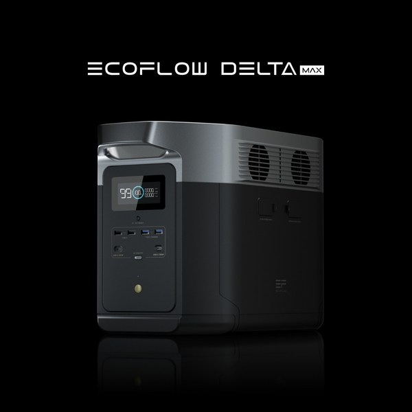 EcoFlow Launches DELTA Max, a Two-Day Home Backup Power Station
