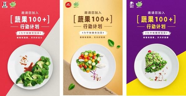 倡導健康生活方式  百勝中國鼓勵消費者選擇更多蔬果