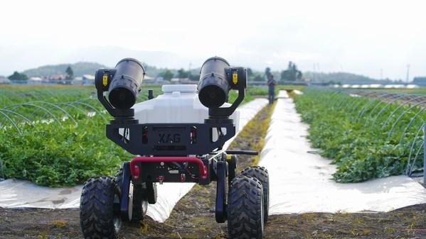 XAGが日本の農家の負担軽減に自動運転ロボットを提供