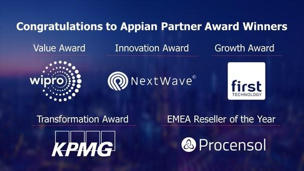 Appianが2021年国際パートナー賞受賞者を発表