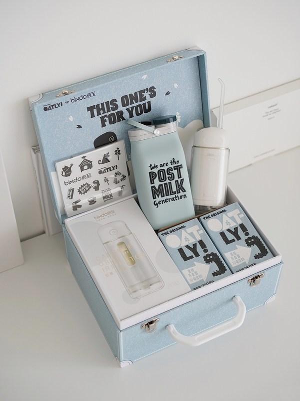 """倍至xOATLY联名""""小蓝盒"""",蓝天白云开启洁净新生活"""