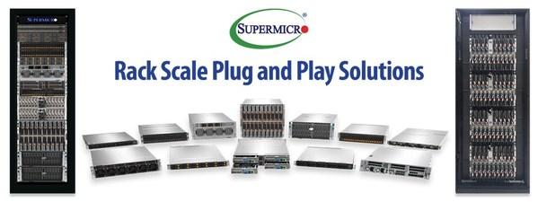 Supermicro推出机柜即插即用云端基础架构,提供免费远程访问测试及验证