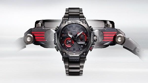 Casio ra mắt MT-G với kiểu dáng hoàn toàn mới được trang bị vành benzel carbon nhiều lớp
