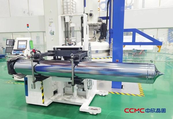 中欣晶圆:连续成功拉制12寸450公斤投料晶棒,量产可期