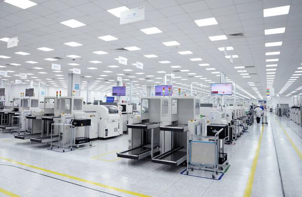 均胜-普瑞宁波工厂表面贴装车间(SMT车间)