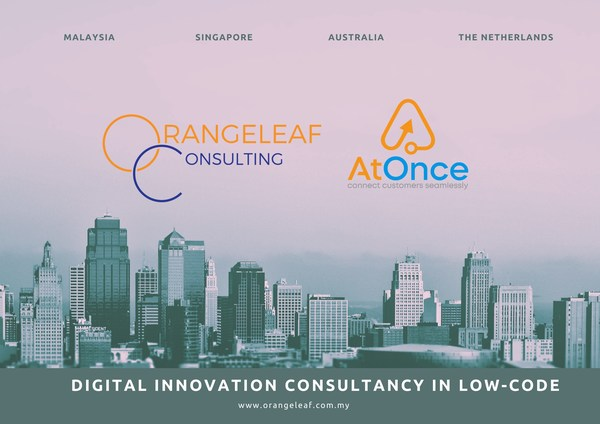 Orangeleaf Consulting realises education innovation with AtOnce.biz for its Australian debut