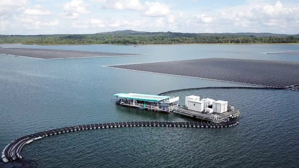 Thailand's Largest Floating PV Plant with Sungrow PV and Floating Solutions Comes Online