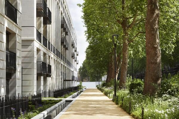 切尔西豪宅打造占地五英亩的公共花园