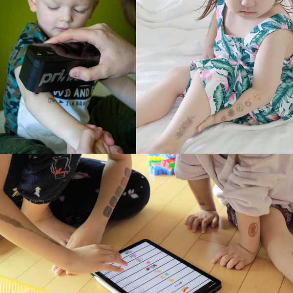 Prinker Enables Children to Express Themselves Through Instant Digital Temporary Tattoos