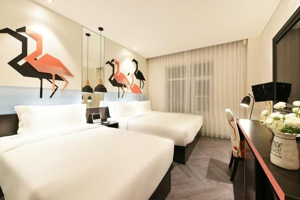 桔子北京通州九棵树酒店推出专属家庭房