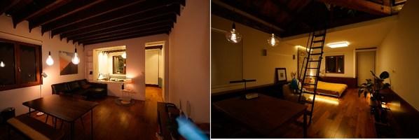 基于WiZ平台的飞利浦智能LED系列产品有机组合,为老洋房带来多样化的照明效果