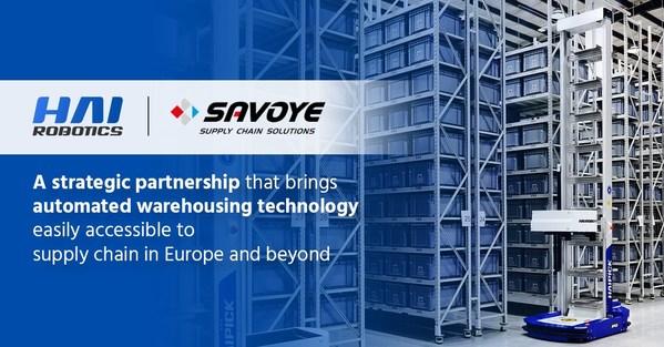 HAI ROBOTICSがSavoyeと提携し、スマートウエアハウジングを促進