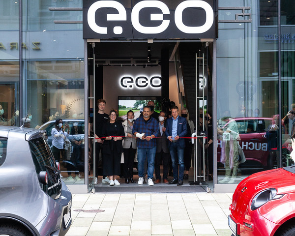 e.GO Mobile Opens an Iconic Brand Store in Hamburg, Germany's Second Largest City