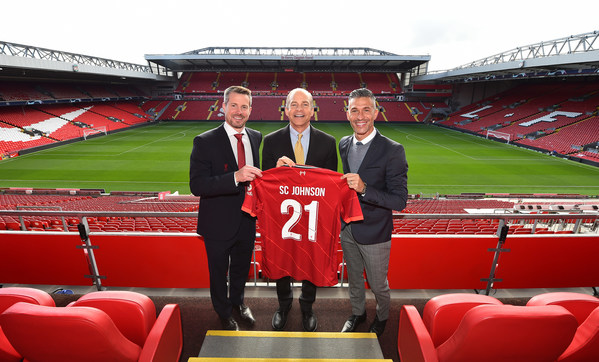 SC Johnson and Liverpool Football Club Team Up to Tackle Plastic Waste; Anfield Plastic to Become New Mr Muscle(R) Bottles