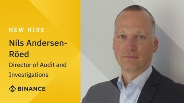 Nils Andersen-Röed 從歐洲刑警組織加入 Binance,進一步增強調查和審計團隊陣容