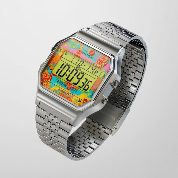 天美时Timex和可口可乐Coca Cola联合推出限量版腕表