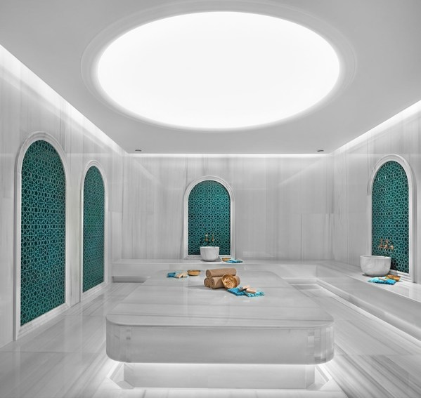 伊斯坦布尔万达文华酒店土耳其浴浴室