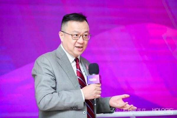 豪洛捷全球副总裁兼豪洛捷中国(集团)总经理曹承治先生致辞