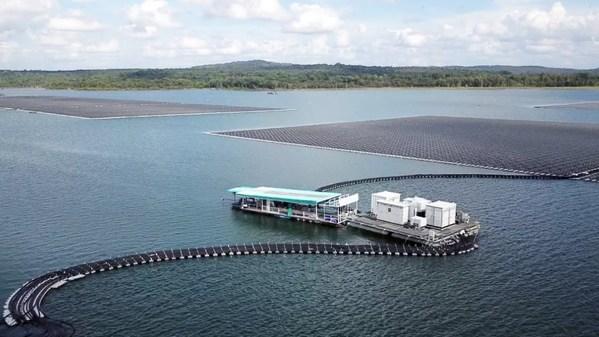 Nhà máy PV nổi lớn nhất Thái Lan với giải pháp nổi và quang điện Sungrow bắt đầu đi vào hoạt động