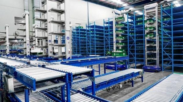 庫寶機器人服務於Booktopia位於澳大利亞新南威爾士州利德科姆的配送中心