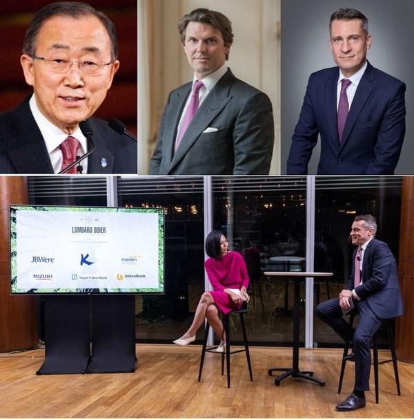 ロンバー・オディエ、ライブ配信によるバーチャル・カンファレンスで前国連事務総長の潘基文氏と戦略的提携先 6 社とともにネット・ゼロに向けた対談を開催