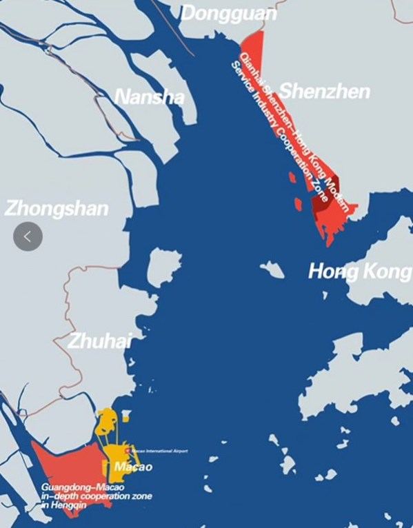 Nanfang Mediaリポート:中国が香港・マカオ経済を強化するマスタープランを推進