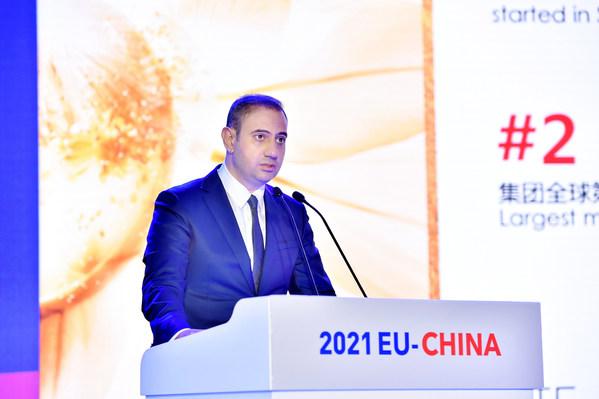 欧莱雅北亚总裁及中国CEO费博瑞先生发言