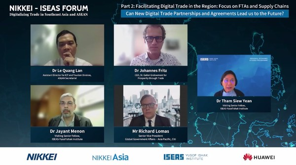 Next five years crucial for ASEAN digitizing trade and economy: NIKKEI-ISEAS forum