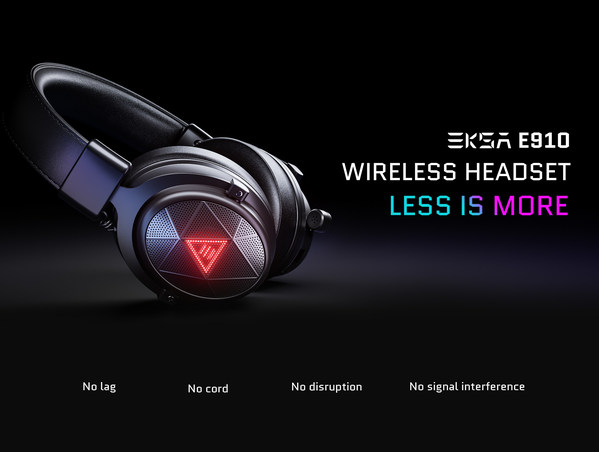 EKSA Rolls-Out The E910 5.8GHz Wireless Gaming & Music Headset