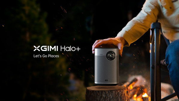XGIMI Expands Versatile Halo Series With Smarter Halo+ FHD Portable Projector