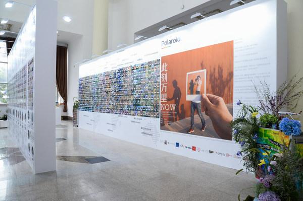 吉祥航空三万英尺美术馆X宝丽来旅行家合作项目亮相北京国际设计周博览会